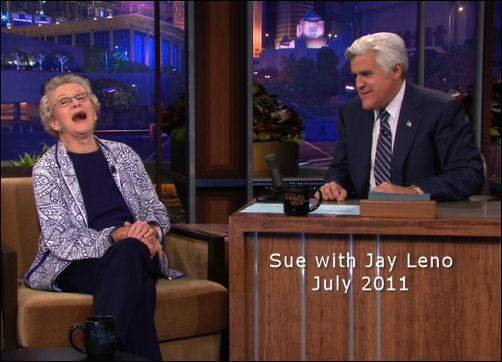 Sue and Jay Leno